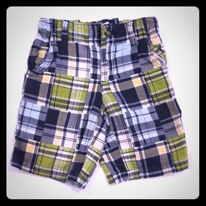 3T Crazy 8's Plaid Shorts